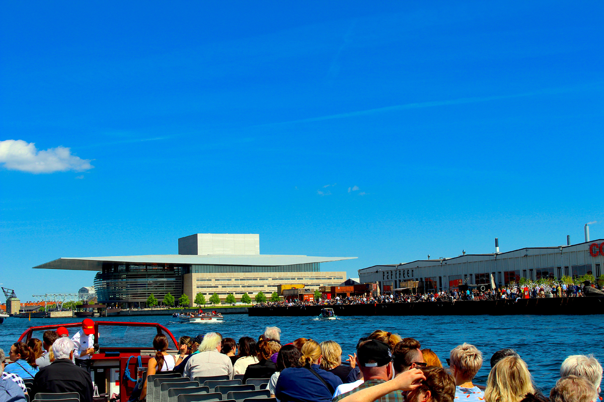 Canal Tour of Copenhagen