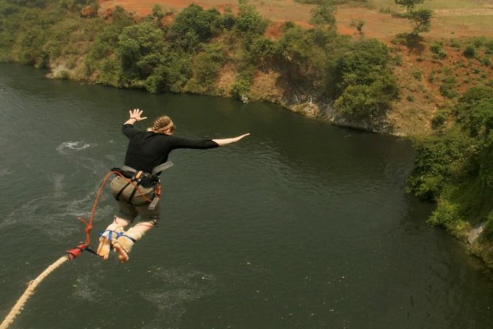 Jinja Uganda Bungee jumping