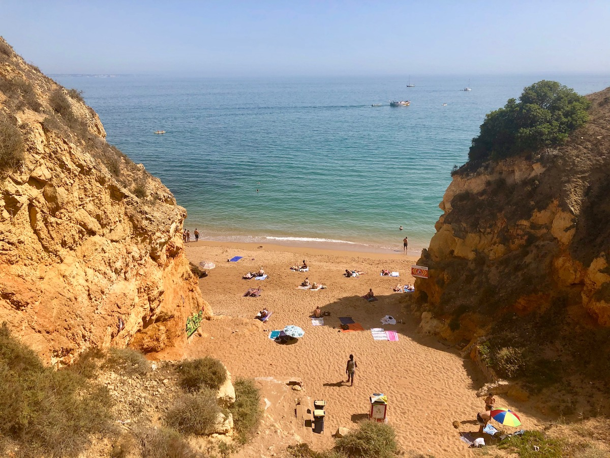Best beaches lagos portugal