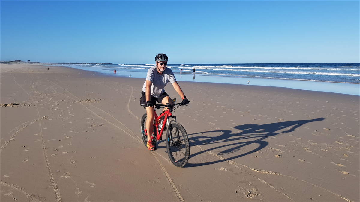 Beach Ride along The Spit on the Gold Coast