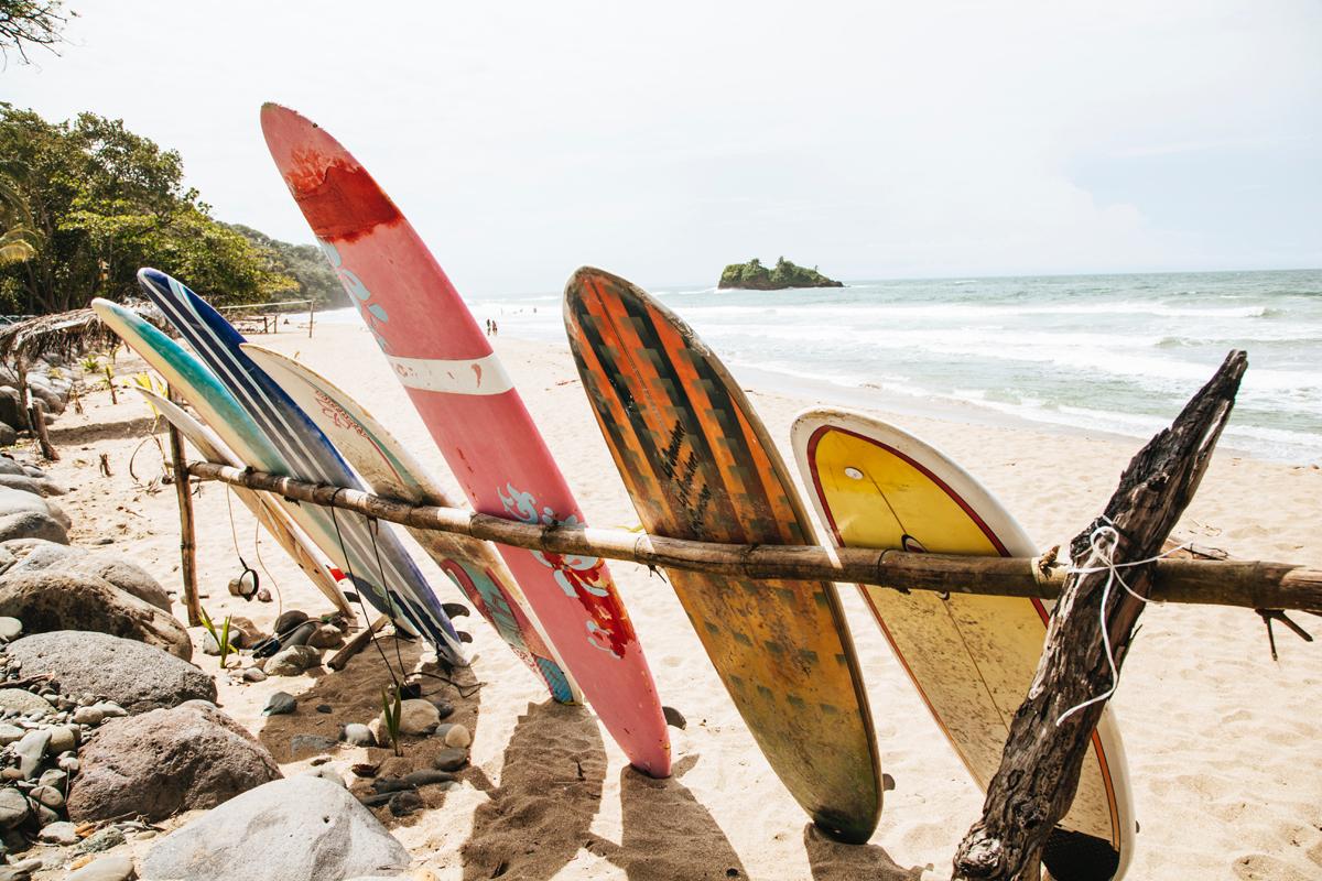 Costa Rica Surf trip