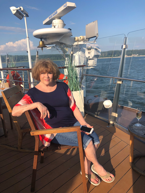 Penny Williams on Viking Cruise