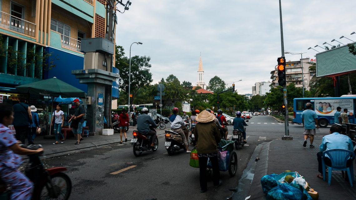 Ho Chi Min City Street