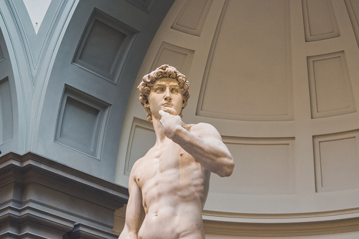 Florence, Italy statue of David