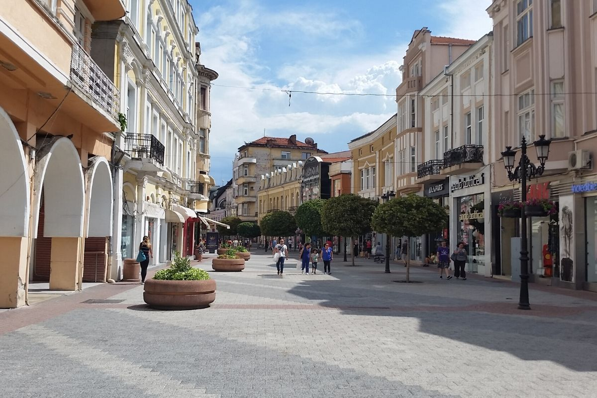 Plovdiv's Main Street