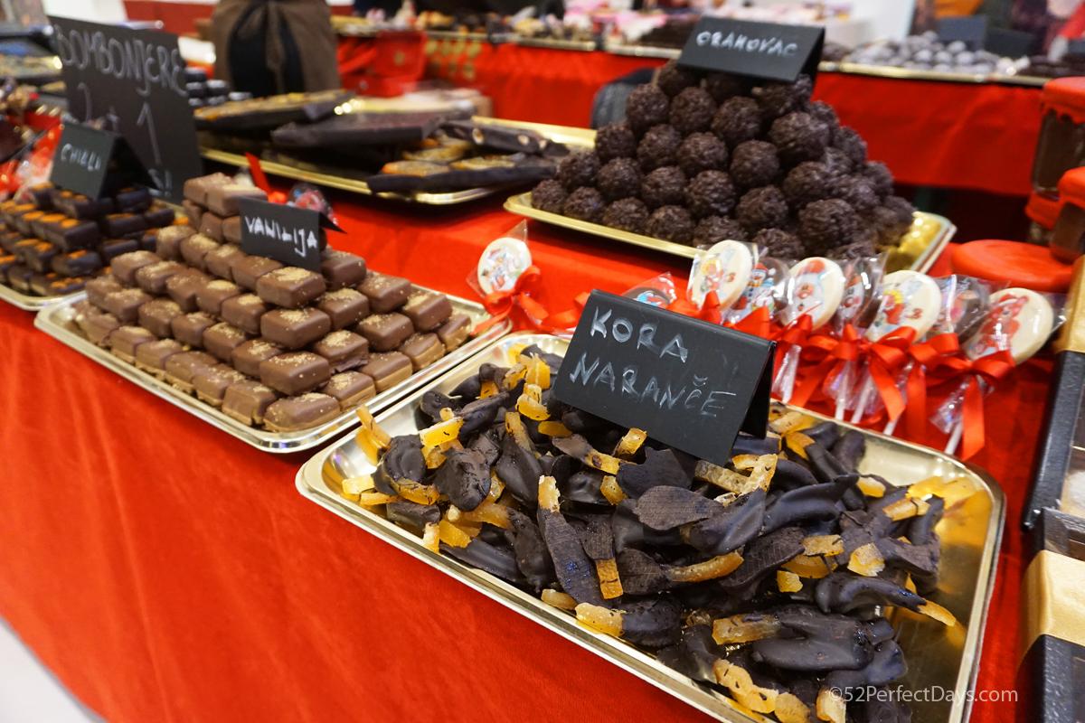 Chocolate festival in Opatija