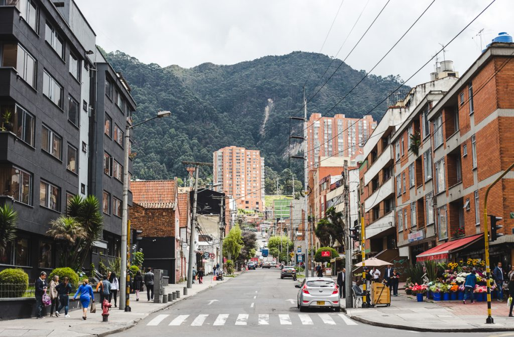 Bogotá is a sprawling metropolis