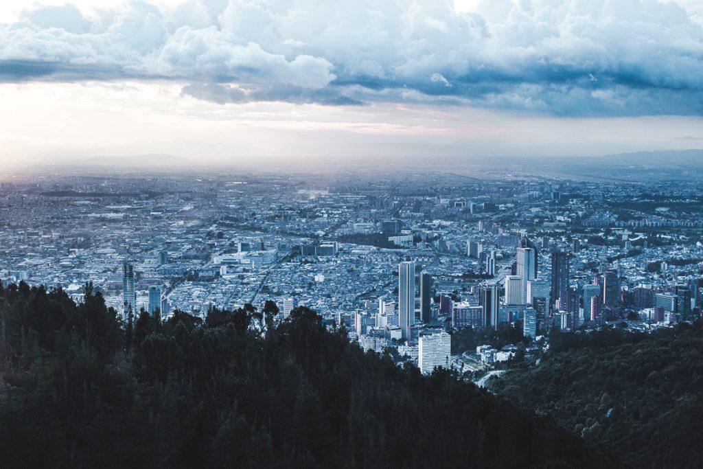 Sunset in Bogota