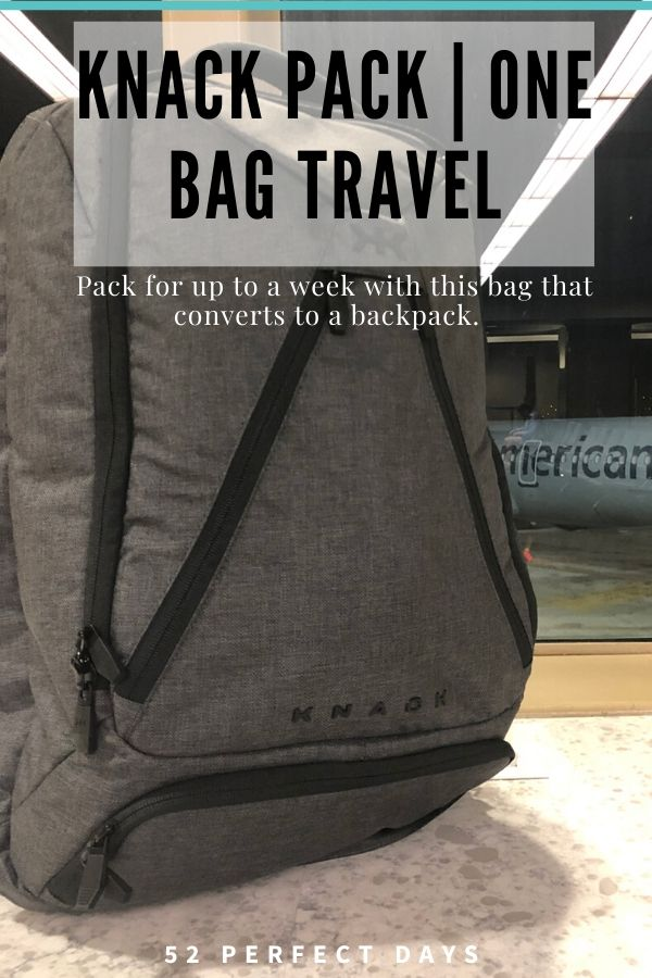 one bag travel