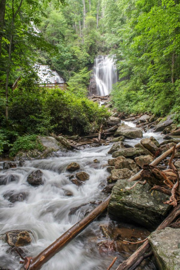 Anna Ruby Falls Unicoi State Park Helen Georgia