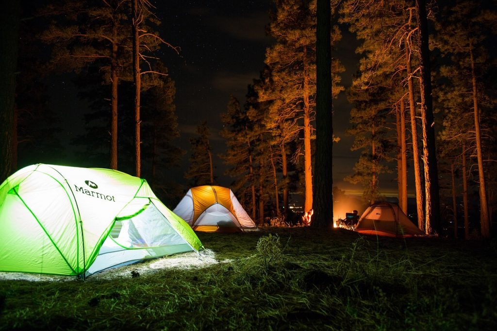 best places to camp in California