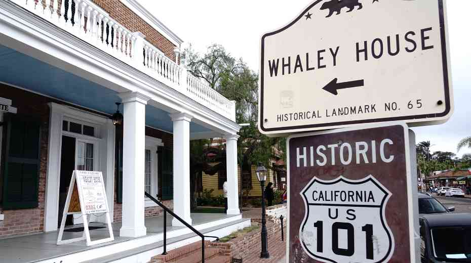 Whaley House in Old Town San Diego