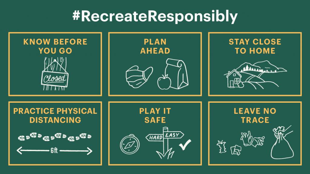 #recreateresponsibly