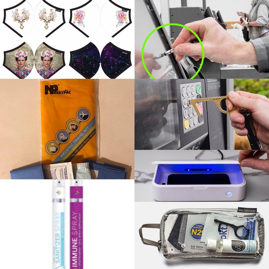 KeySmart, Walter + Ray, NeetPac, YaYa Novelty travel items