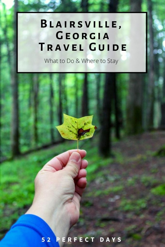 Make the most of your day trip to Blairsville, Georgia with this full mountain travel guide. From hiking trails, restaurants, best campgrounds, and more.