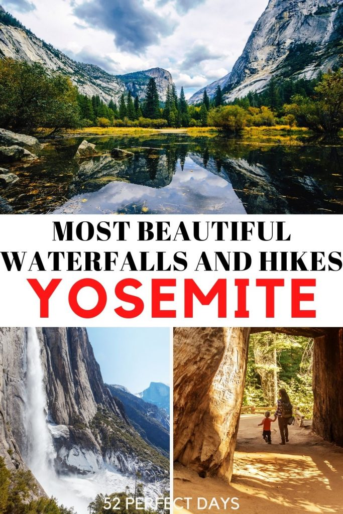 perfect trip to Yosemite National Park