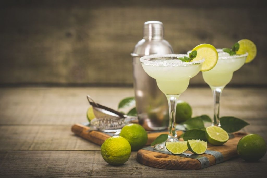 margarita with tequila