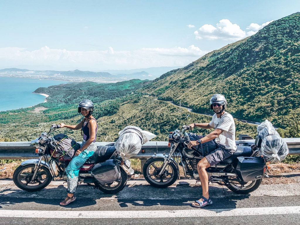 Hai Van Pass, Vietnam Scooter route
