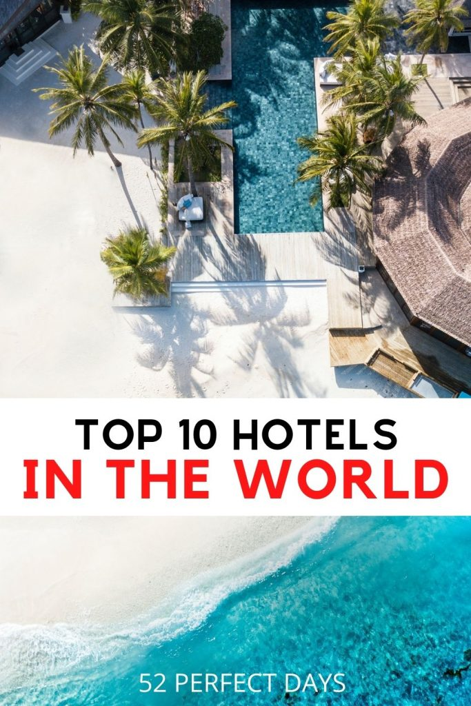 10 Of The World's Most Amazing Hotels To Visit in Your Lifetime. Condé Nast Top 10 Hotels in the World for 2020. The top Instagrammable hotels. Top luxury hotels in the world with a full review. Luxury Lifestyle | Travel | Traveling The World | Dream Lifestyle | dream life | dream vacation | dream travel | romantic destinations | the best places to stay for your next vacation.