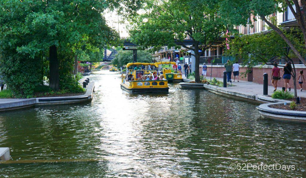 Water Taxi in Bricktown