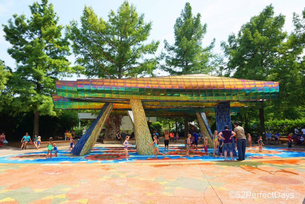 water park at children's park