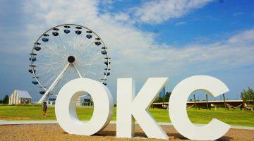 OKC Ferris Wheel in Wheeler District