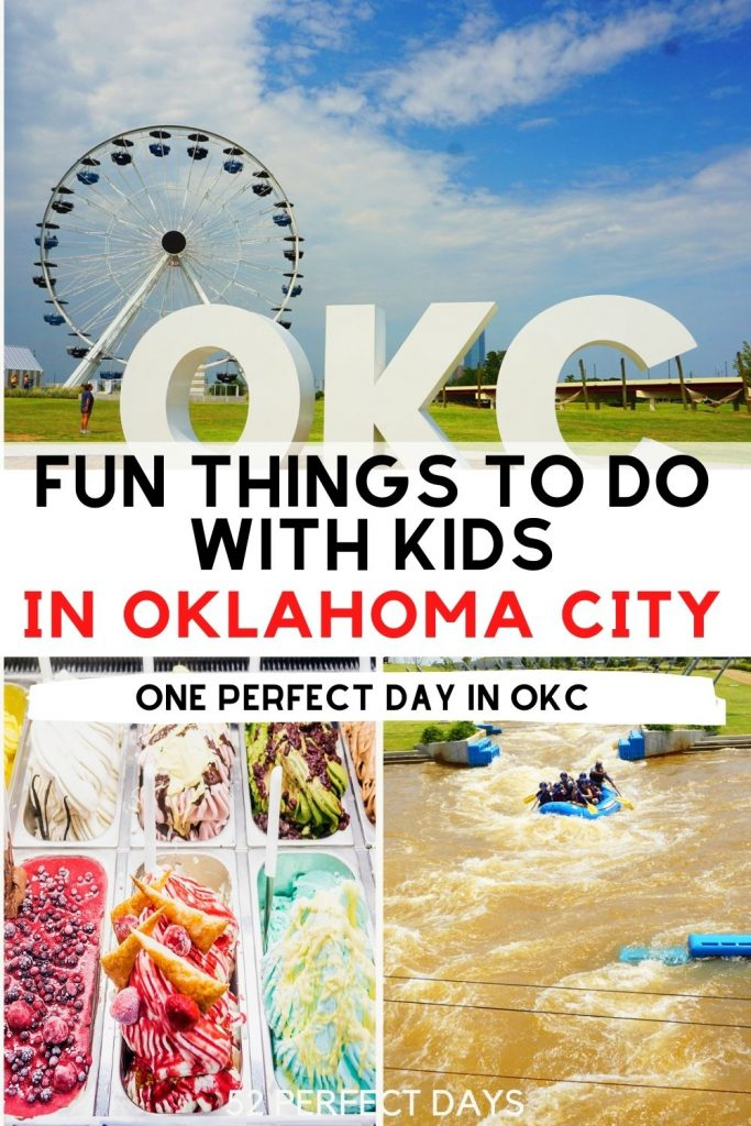 Fun Things to do in OKC with Kids. Things to do in OKC with Kids. The best family-friendly restaurant options and of course a great hotel option for families!