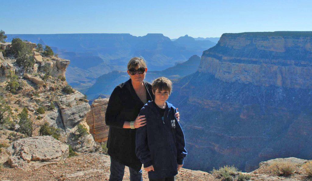 alexa and roland at grand canyon