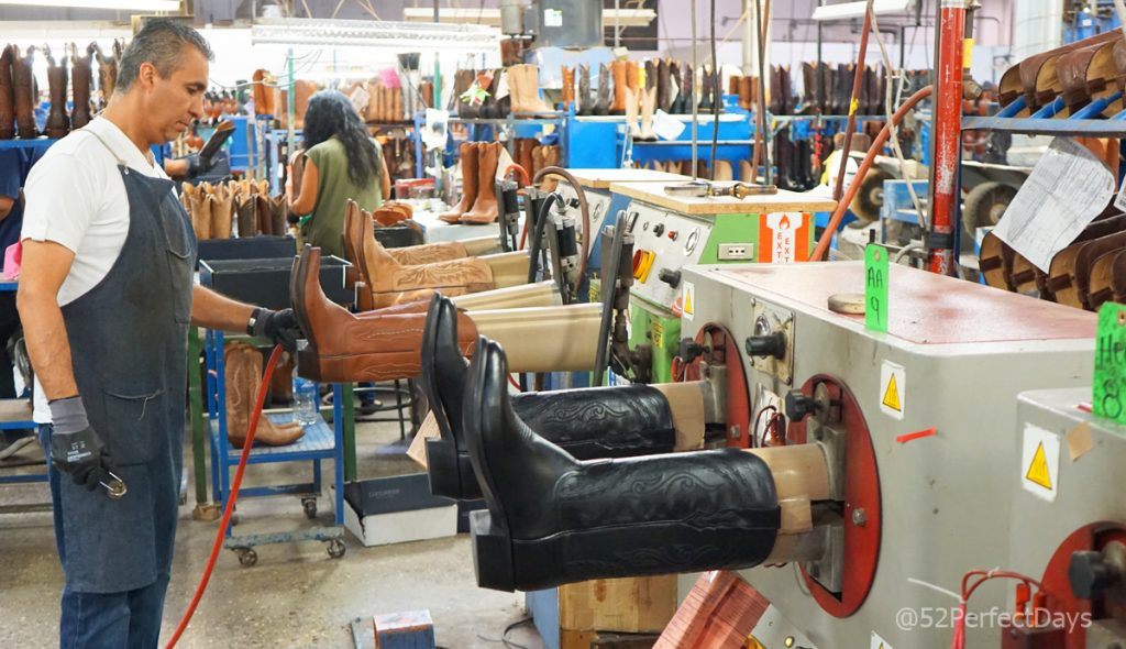Lucchese Boot Factory Tour