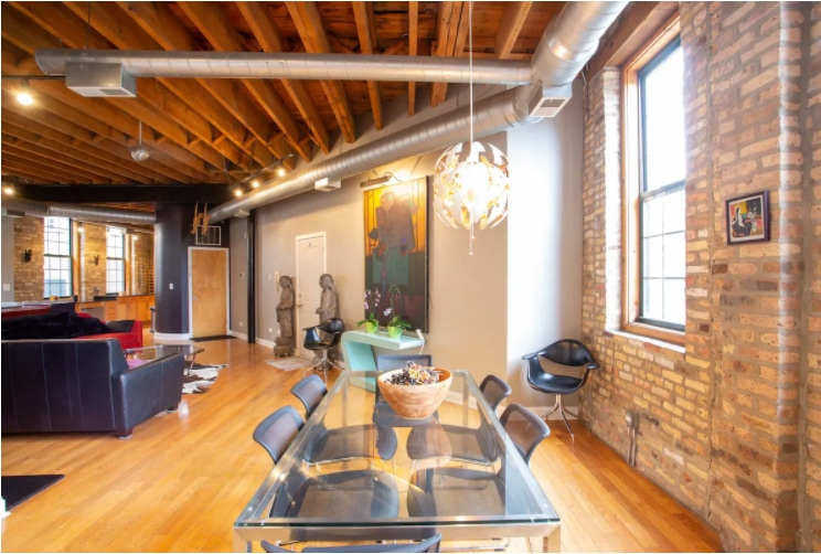 Former Factory Converted into a Loft