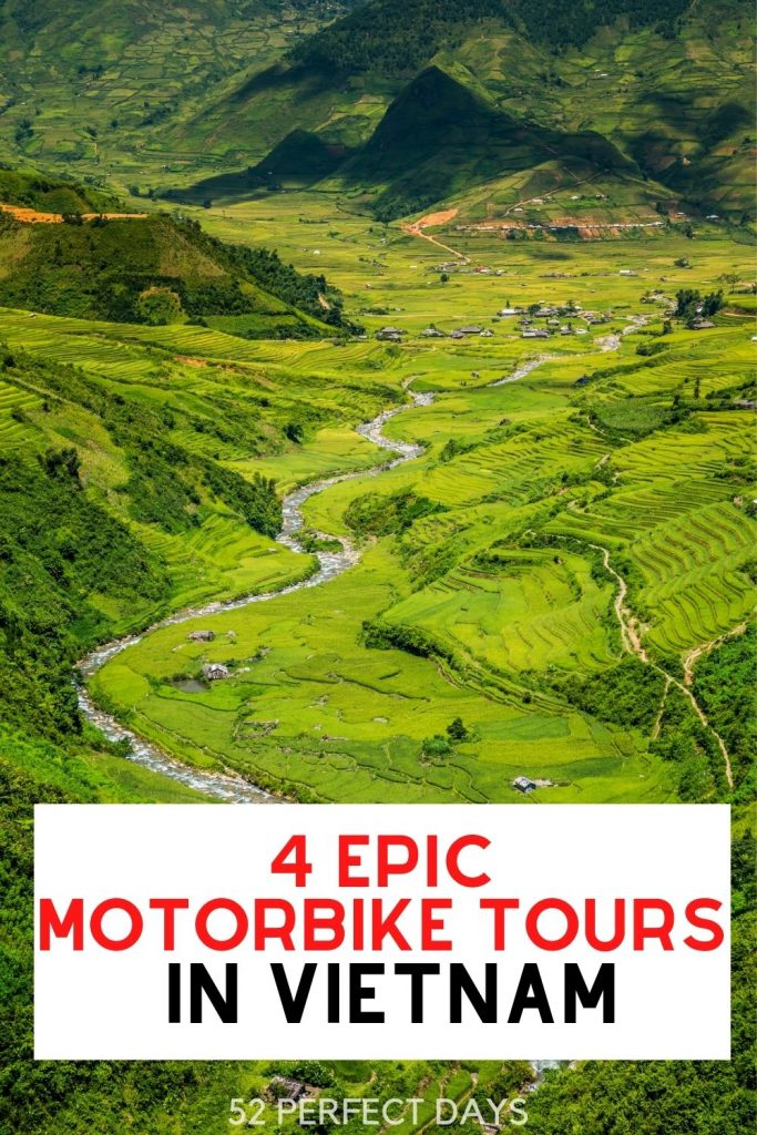 Epic Motorbike Tours in Vietnam. Whether you explore by motorcycle, scooter or bicycle these routes are the most beautiful way to explore Vietnam.