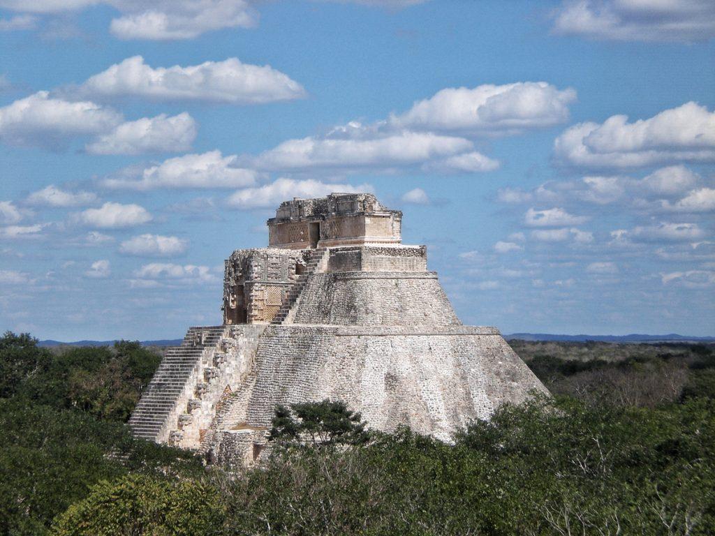 Uxmal Mayan Ruin near Merida