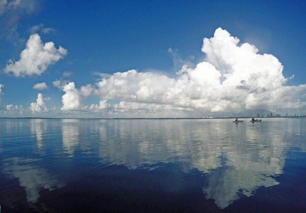 Nichupte' lagoon in Cancoon