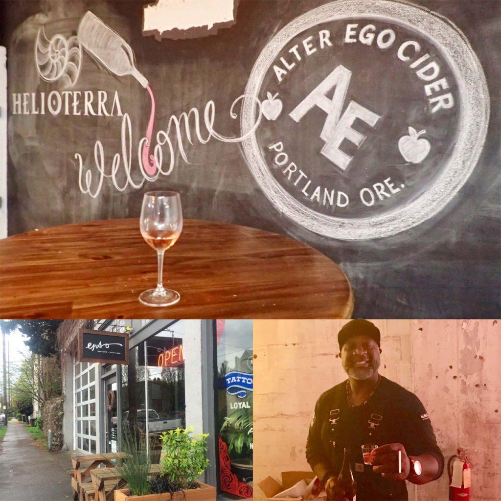 Alter Ego Cider/Helloteria Wines, Enso Winery, Bertony Faustin/Abbey Creek Vineyard