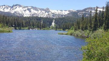 Mammoth Lake in California