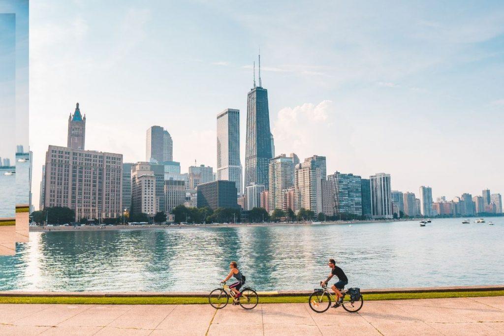 Bike the lakefront