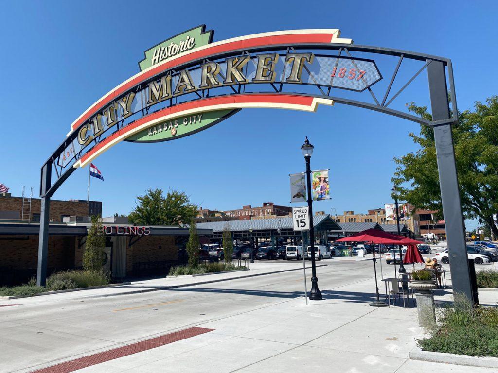 City Market Sign in Kansas City