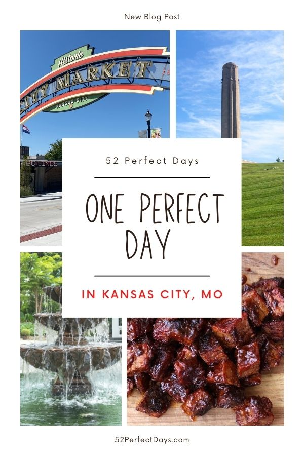 One perfect day in Kansas City Missouri! A day of culture, history & foodie fun in KCMO. Renowned for its barbeque & more fountains than any city in the world except Rome.