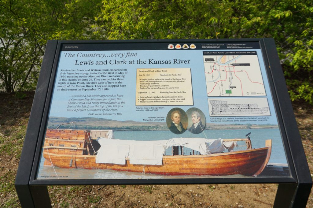 Lewis and Clark's 1804 visit to Kansas City and the Missouri River history