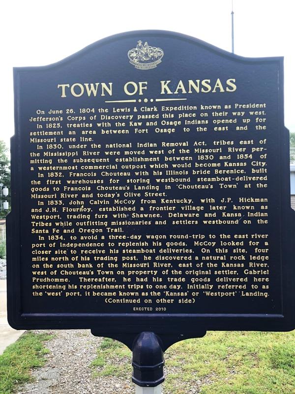 Town of Kansas History