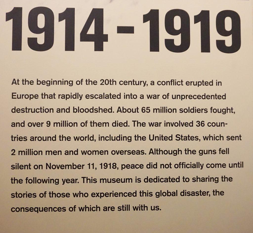 WW1 overview