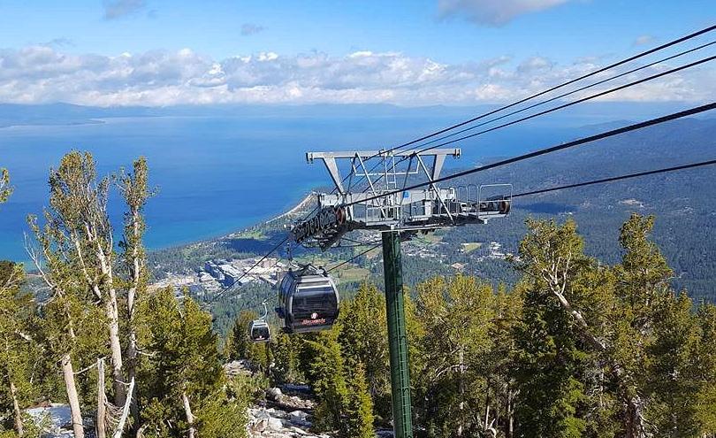 Heavenly Ski Resort Gondola