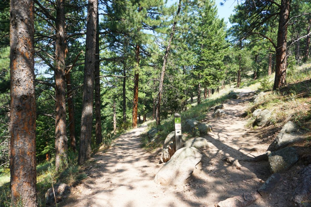 Realization Point hiking trails