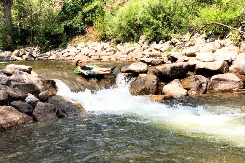Boulder Creek Tubing