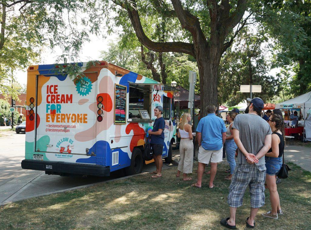 Boulder vegan ice cream food truck